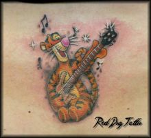 Tigger Tattoo by Reddogtattoo