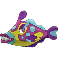 Bruxish: Water and Psychic type