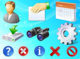 business and office icons by FreeIconsFinder