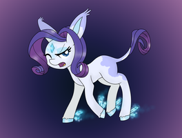 Rarity as a pokemon by mississippikite