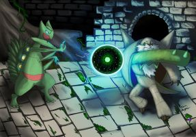 Epic Pokebattle! Chesnaught VS Sceptile! by Sin-King