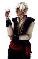 Fenris in Finery by Themanlylobster