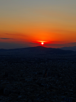 Greece -37- : Sunset -2- by IoannisCleary