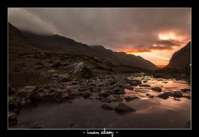 Sunset in Snowdonia by dynamick