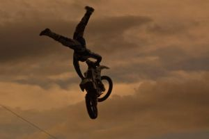 Niverville Fair Dirt Bike Jump by yamiyalo