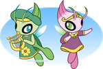 .:Celebi Siblings:. by Volmise
