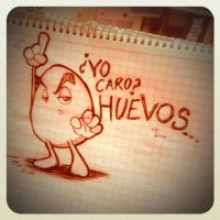 HUEVOS by centauros-graphic