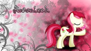 Roseluck's Flower Escape Wallpaper by ALoopyDuck