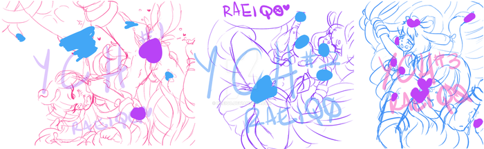 OPEN 2/3 YCH batch | Tentacles by raeiqo