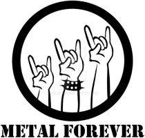 metal forever by NaletH