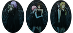 black dresses by TheApatheticKat