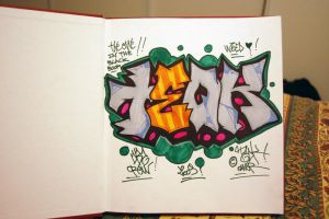 1st BlackBook by dadouX