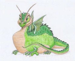 Flight of Dragons:Baby Gorbash by starscream64