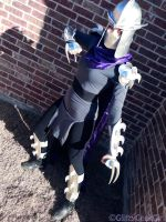 Shredder from TMNT Cosplay by glitzygeekgirl