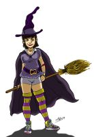 witch character by xAndyLG