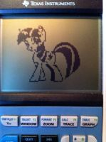 Graphing Calculator Ponies - Twilight by alxg833