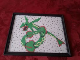 Rayquaza Paper Craft by xxCoffee-Wizard