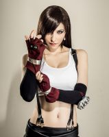 Tifa Lockhart: Prepare to get yer ass whopped! by LadyxZero