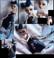 Monster High Custom: Fashionista Cleo by l0v3-15-n3vr-wr0n9