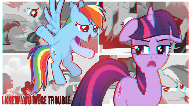 You TROUBLE. by SweetLeafx