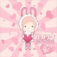 Pinky: Happy Valentine by pinkx2