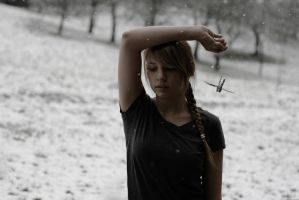 snow was covering my memories by Rona-Keller