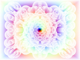 Gradient Rainbow Floral by Undead-Academy
