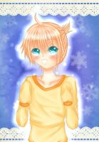Kagamine Len - Sweater Crossdressing colored ver. by naota-art