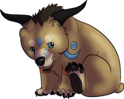 Tiny Tauren Bear Form by KFCemployee