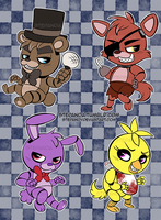 Chibi Five Nights At Freddys by StePandy