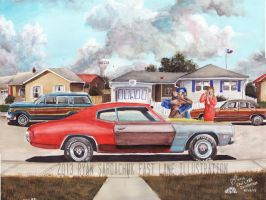 The Life Story Of A 1970 Chevy Chevelle (Part 15) by FastLaneIllustration