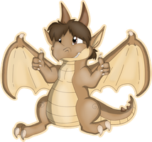 Seth the Dragon by MBPanther