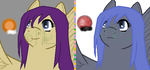 Compare of Sunrise Hope and Moonlight Despair by SnowxChan