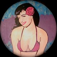 Bettie Page II by jazzyutopia