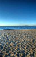 Alki Beach - Sand by Veegie