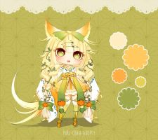 [CLOSED TY] Adoptable Auction 50 - Kimonomimi by Puripurr