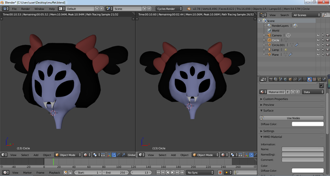 Muffet Model by dj-cool-2000