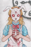 White Rabbit Alice by LoudMouth321