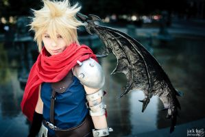 Cloud - Kingdom Hearts - 1 by alucardleashed