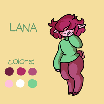 Lana Reference by wiiabee