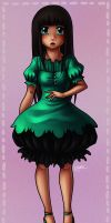 Green Dress by The-kat