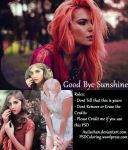 good bye sunshine PSD COLORING By Aulia Chan by auliachan