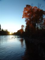 Dolores River at Sunset by Aristotlerocks007