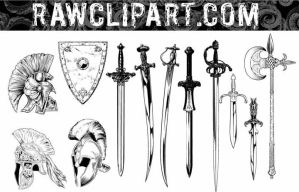 Weapons Set by rawclips