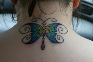 Butterfly Tattoo by neaters2000