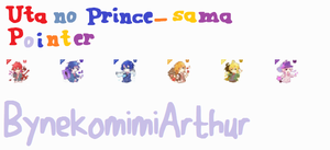 Pointer Uta no prince-sama by Nekomimiarthur