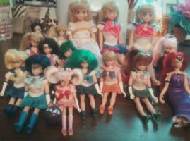 sailor moon doll collection 2 by aliciamarie923