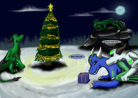 Juro Christmas contest entry by Dragons-for-Life