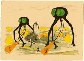War of the Worlds by Teagle