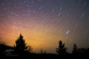 Star Trails 2 by Nebey